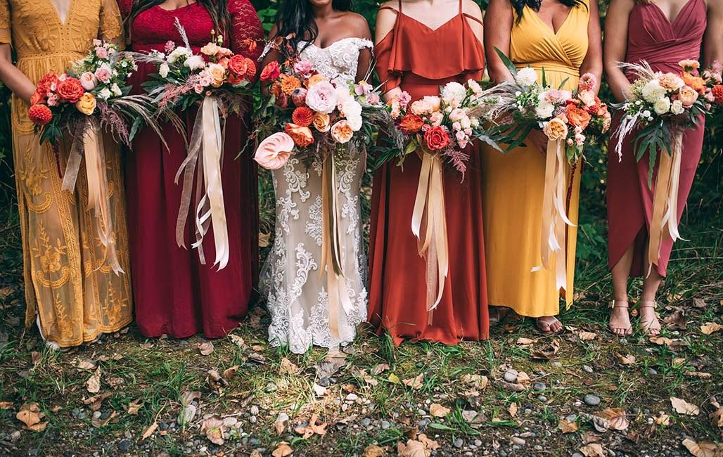 Brides Maids Wedding Rental